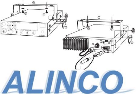 Установка радиостанции ALINCO DR-135CB NEW в автомобиле