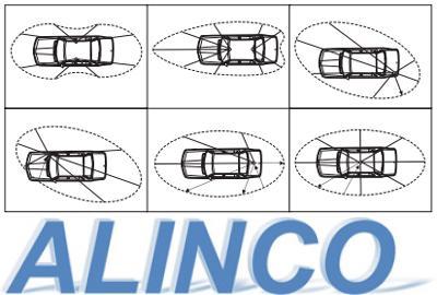Установка антенны радиостанции Алинко DR-135CB NEW на автомобиле